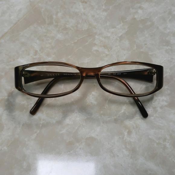 Brown Gucci Glasses